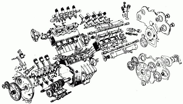 v8 engine exploded view diagram car  v8  free engine image